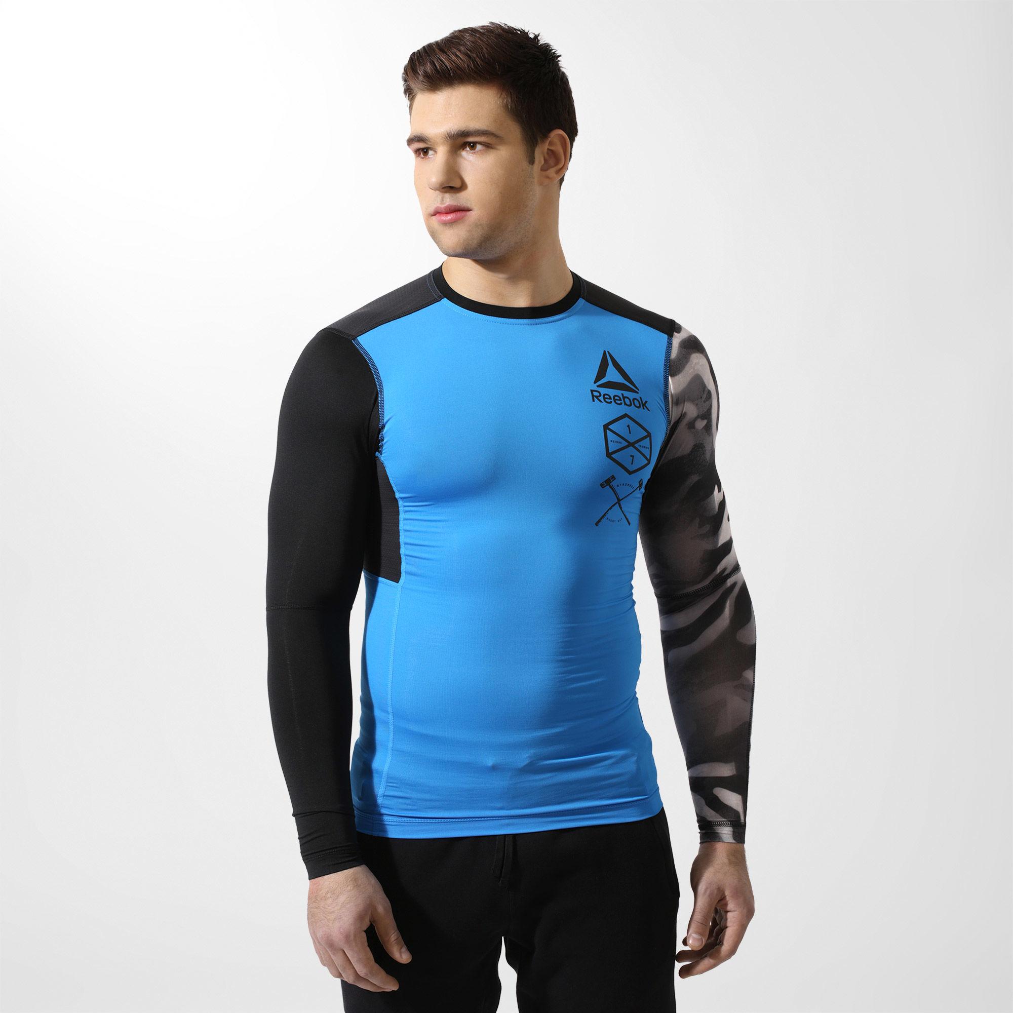 Компрессионная футболка с длинным рукавом ACTIVCHILL M BR4810 ... 8780a275ee8ff