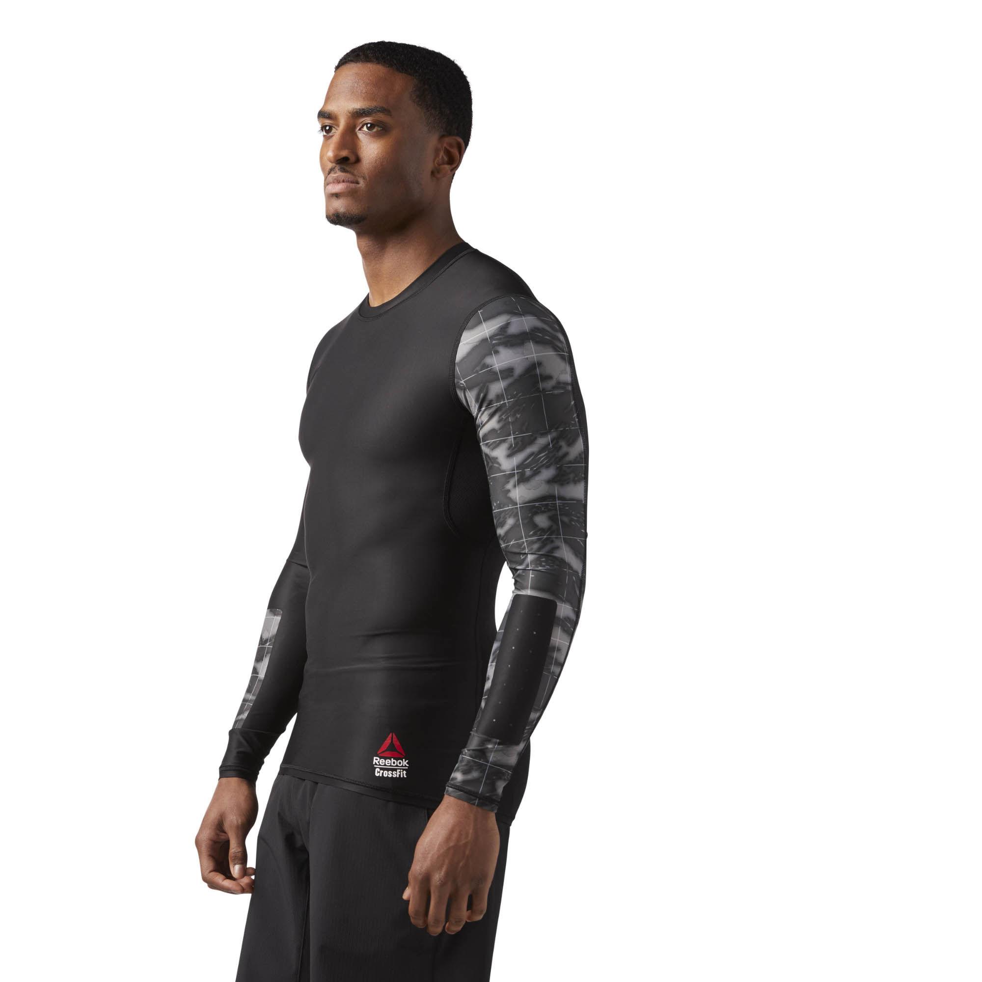 Компрессионная футболка с длинным рукавом Reebok CrossFit M CE2627 ... e124bcaee4059