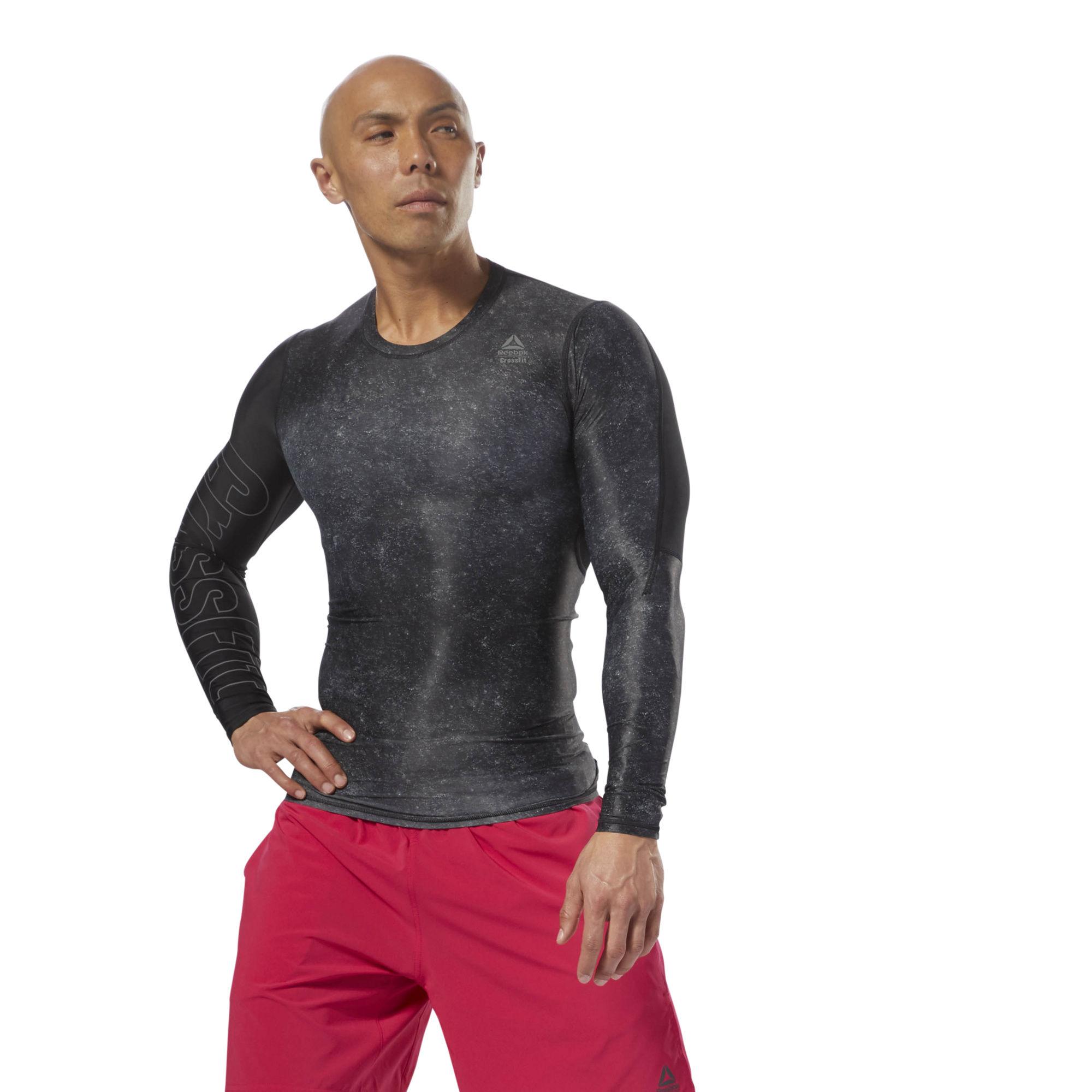 Компрессионная футболка с длинным рукавом Reebok CrossFit D94900 ... 0d9bdcde2e693