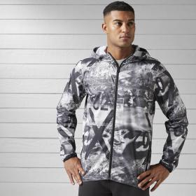 Спортивная куртка Lightweight Stripe Camo M B45123