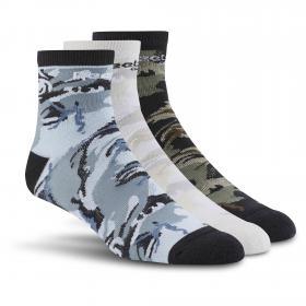 Носки Reebok Classics Graphic Ankle ? 3 пары в упаковке BJ9125