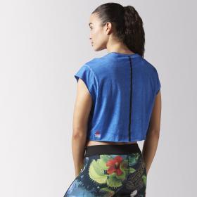 Укороченная футболка Reebok CrossFit Washed W BJ9875
