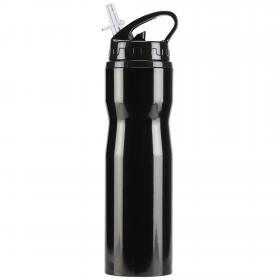 Металлическая бутылка для воды 0,75 л ТренировкиBP8844