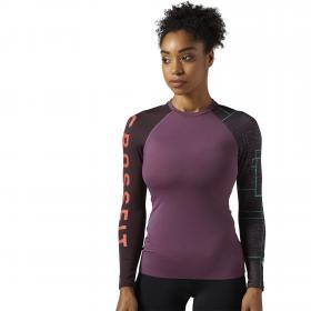 Спортивная футболка с длинным рукавом Reebok CrossFit Paddle W BQ5179