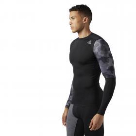 Компрессионная футболка с длинным рукавом ACTIVCHILL Graphic M BR9579