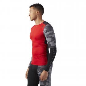 Компрессионная футболка с длинным рукавом ACTIVCHILL Graphic M CD5211