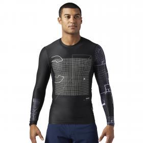 Компрессионная футболка с длинным рукавом Reebok CrossFit M CF0358