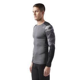 Компрессионная футболка с длинным рукавом ACTIVCHILL Graphic M CF3714