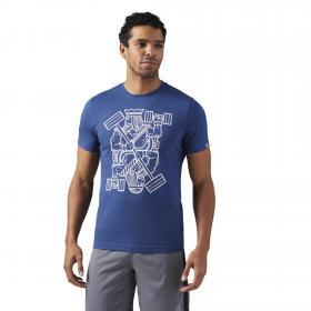 Спортивная футболка King of Training Graphic