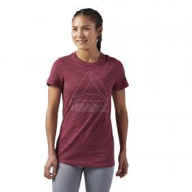 Спортивная футболка с коротким рукавом W CF8638