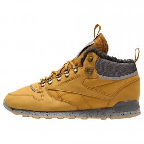 Кроссовки Classic Leather Mid Sherpa II Perfect Split M CN1884