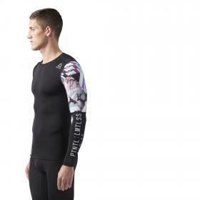 Компрессионная футболка с длинным рукавом M CW0178