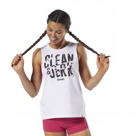 Спортивная майка Reebok CrossFit Clean & Jerk