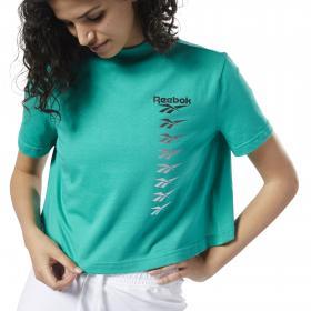 Укороченная футболка Classics Vector