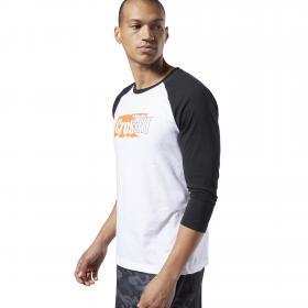 Спортивная футболка Reebok CrossFit® Sticker Rip Raglan