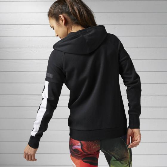 Худи Workout Ready Cotton Series Graphic Full Zip W BK2897