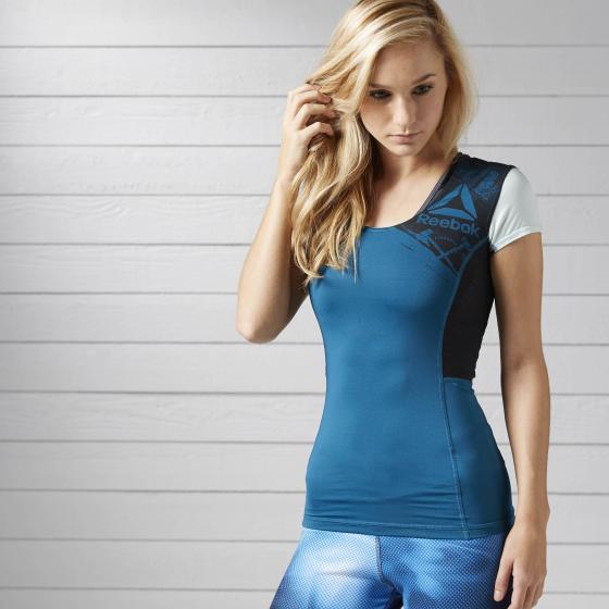 Компрессионная футболка ACTIVCHILL W BK3138