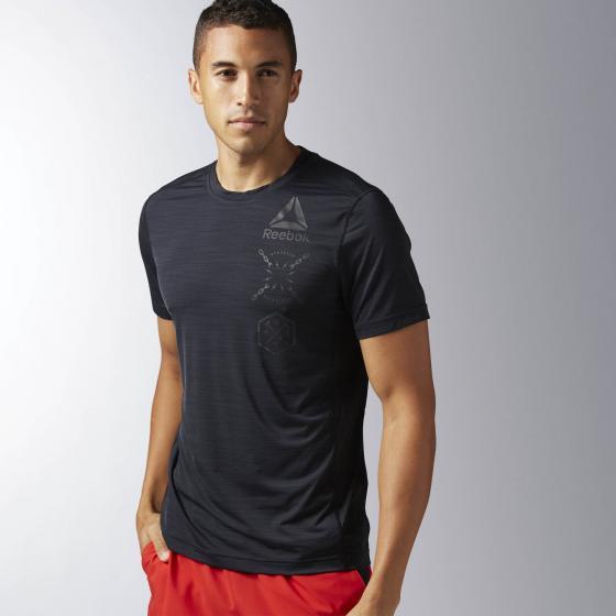 Спортивная футболка ACTIVCHILL Graphic M BK3966