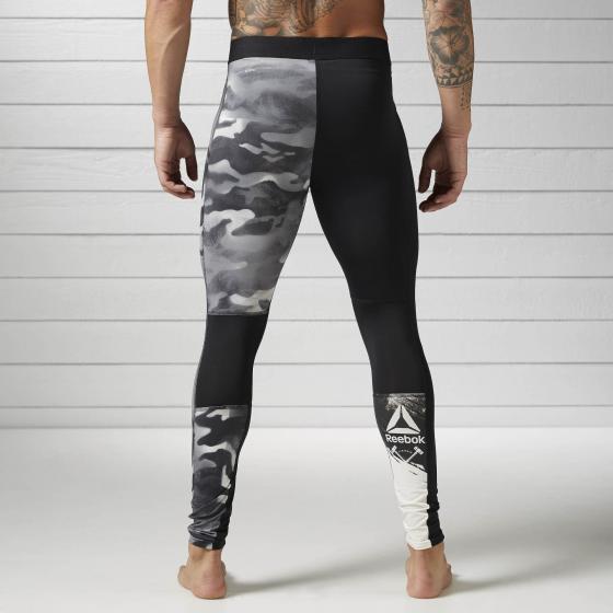 Компрессионные брюки Spray Camo M BK3982