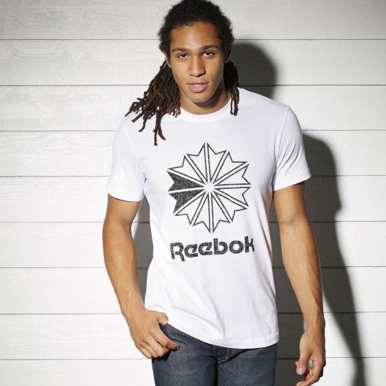 Спортивная футболка Reebok Logo Print M BK4177