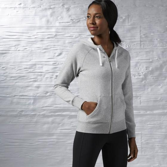 Джемпер Womens El Fullzip Fleece Reebok