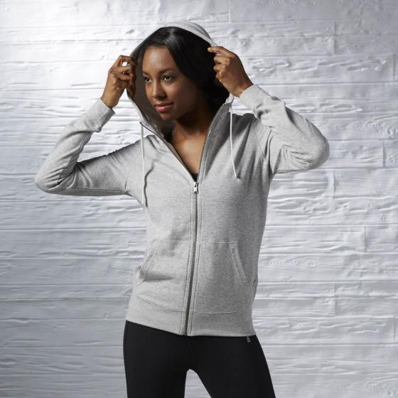 Толстовка EL FT FULL ZIP Womens Reebok