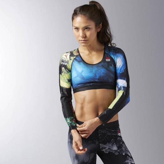 Укороченная компрессионная футболка Reebok CrossFit W B45206