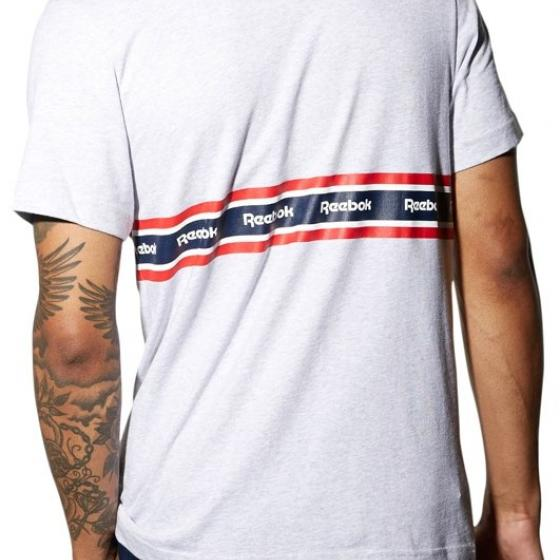 Футболка F PRINTED TAPE TEE Mens Reebok
