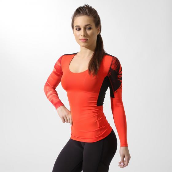 Компрессионная футболка с длинным рукавом ACTIVCHILL W BQ4944