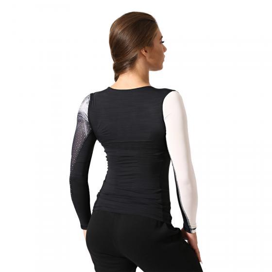 Компрессионная футболка с длинным рукавом ACTIVCHILL W BQ5034