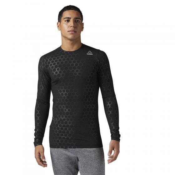 Компрессионная футболка с длинным рукавом HEXAWARM M BR7365