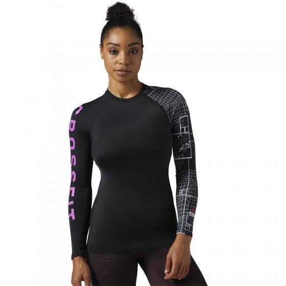 Спортивная футболка с длинным рукавом Reebok CrossFit Paddle W BS1846