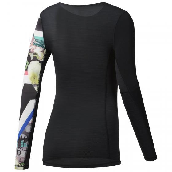 Компрессионная футболка с длинным рукавом W CE2656